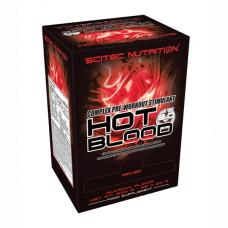 Hot Blood 3.0, 25 x 20 g (500 g) - Scitec Nutrition