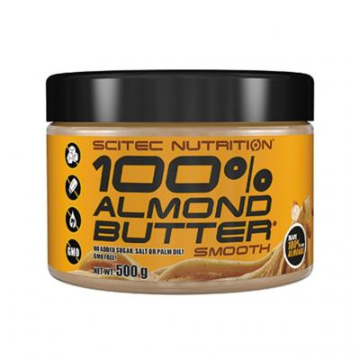 100% Almond Butter, 500 g - Scitec Nutrition