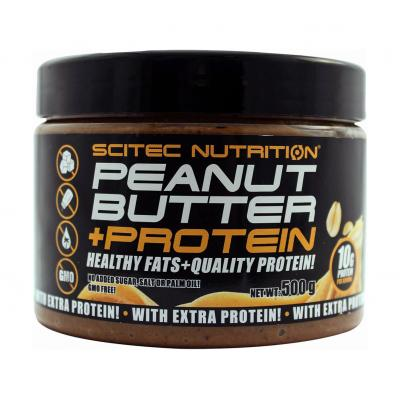 Peanut Butter + Protein, 500 g - Scitec Nutrition