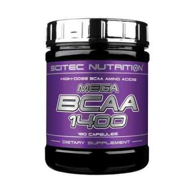 Mega BCAA 1400, 180 tabliet - Scitec Nutrition