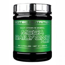 Scitec Nutrition, Mega Daily One Plus, 120 tabliet