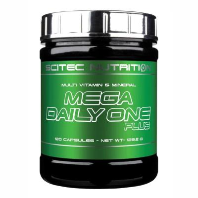 Mega Daily One Plus, 120 tabliet - Scitec Nutrition