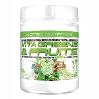 Vita Greens & Fruits so stéviou, 360 g - Scitec Nutrition