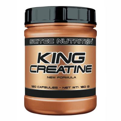 King Creatine, 120 tabliet - Scitec Nutrition