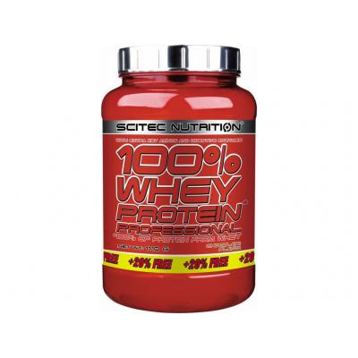 100% Whey Protein Professional + 20% Free, 1110 g - Scitec Nutrition