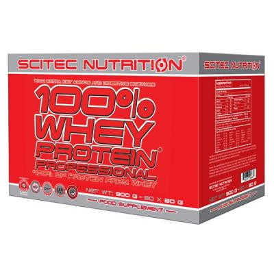 100% Whey Protein Professional, 30 x 30 g (900 g) - Scitec Nutrition