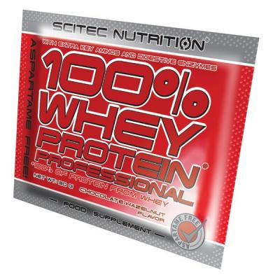 100% Whey Protein Professional, 30 g - Scitec Nutrition