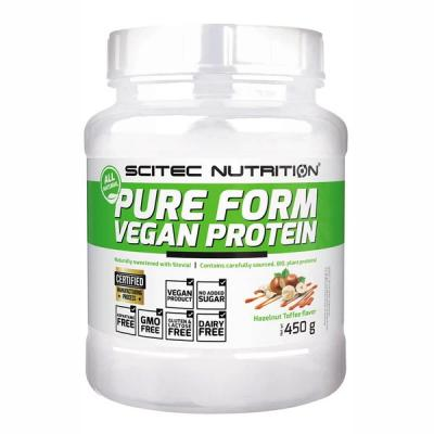 Pure Form Vegan Protein, 450 g - Scitec Nutrition