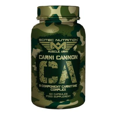 Muscle Army Carni Cannon, 60 tabliet - Scitec Nutrition