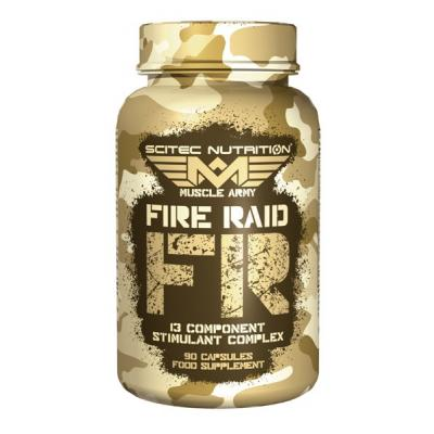 Muscle Army Fire Raid, 90 tabliet - Scitec Nutrition