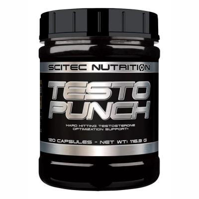 Testo Punch, 120 tabliet - Scitec Nutrition