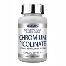 Scitec Nutrition, Chromium Picolinate, 100 tabliet