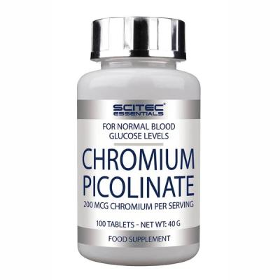 Chromium Picolinate, 100 tabliet - Scitec Nutrition