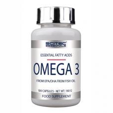 Scitec Nutrition, Omega-3, 100 tabliet